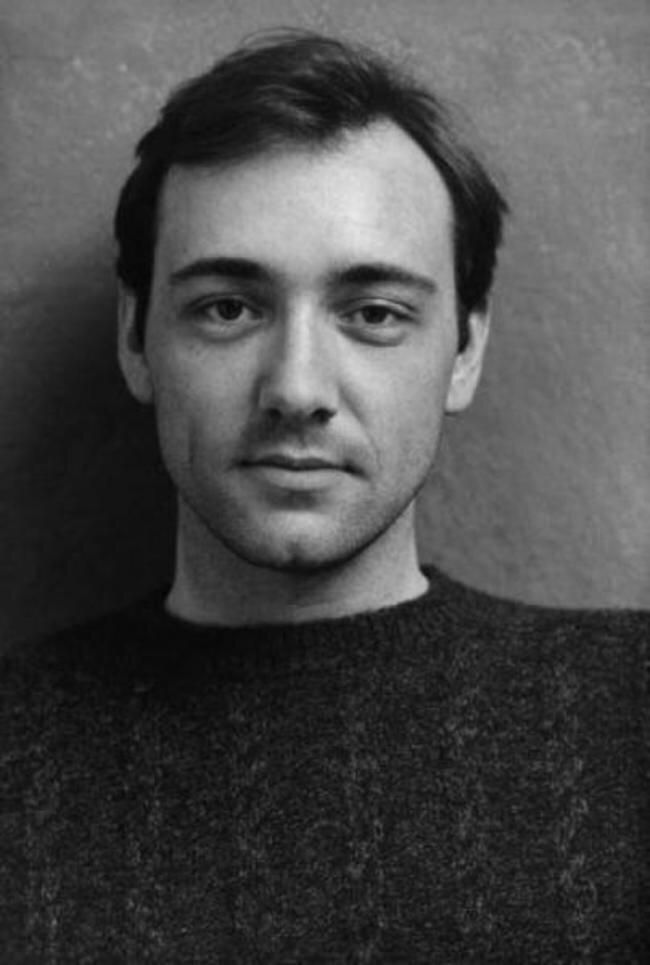 A young Kevin Spacey, 1980s.
