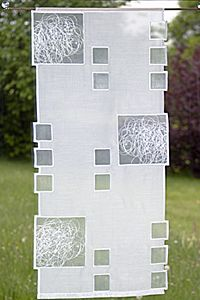 Moderne Flachenvorhange Flachengardinen Schiebegardinen Spitzen Gardinen Aus Plauener Spitze Schiebevorhange Fabric Art Modern Quilts Free Motion Embroidery