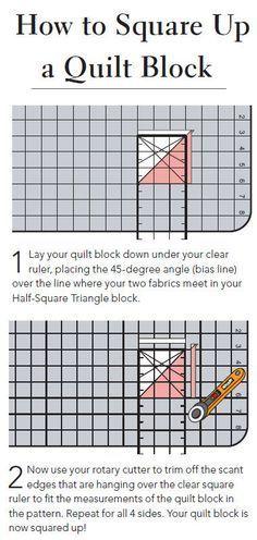 Quilting Essentials: Squaring up Quilt Blocks | Quilt blocks ... : squaring up quilt blocks - Adamdwight.com