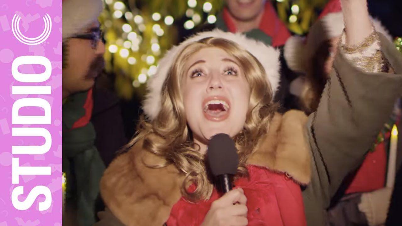 Celine Dion Goes Christmas Caroling Studio C Celine Dion Studio C Videos Studio C