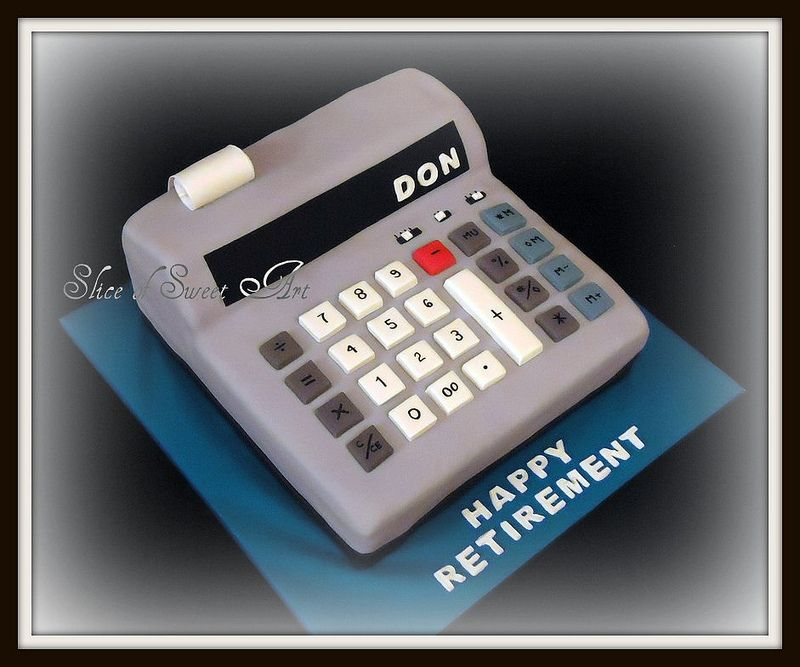 calculator retirement cake in 2019