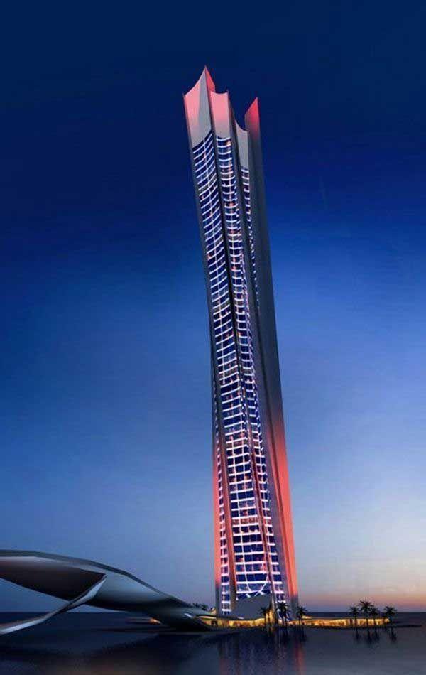 The Wave Tower, Dubai.