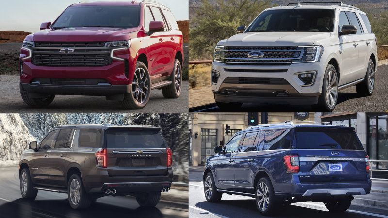 2021 Chevy Tahoe Vs 2020 Ford Expedition Comparison Ford Expedition Chevy Tahoe Chevrolet Suburban