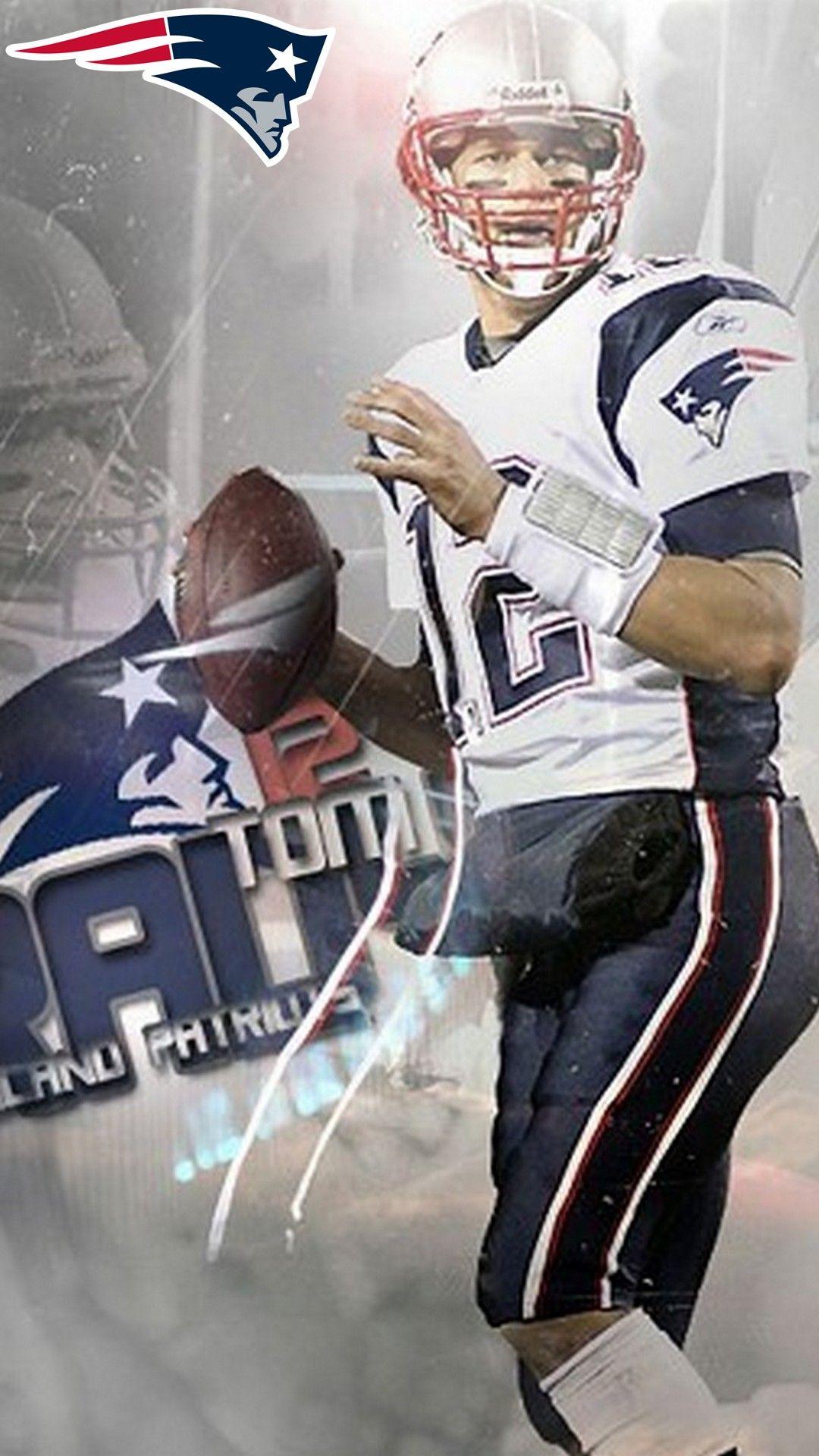 Tom Brady Patriots Iphone 8 Wallpaper New England Patriots
