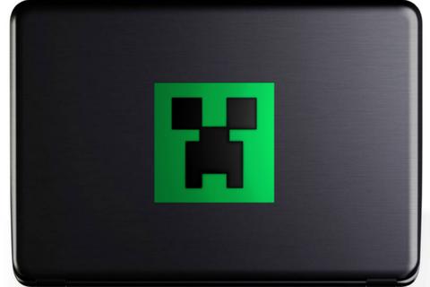 Minecraft Creeper Decal Creeper Face Sticker Face Stickers Vinyl Decals Layered Vinyl