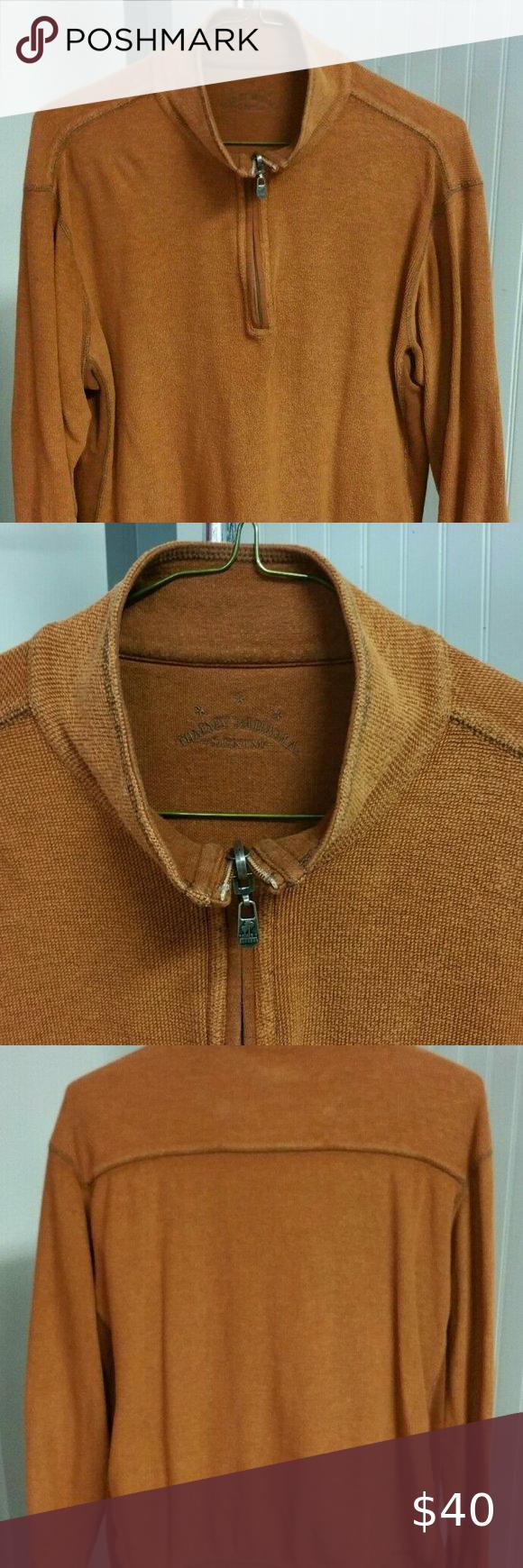 Tommy Bahama Denim 1 2 Zip Burnt Orange Reversible Reversible Sweater Mens Sweatshirts Tommy Bahama [ 1740 x 580 Pixel ]