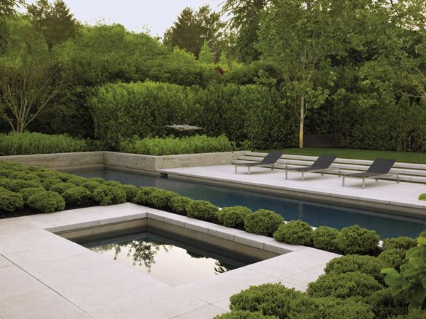 Architecturally Dramatic Bay Area Garden By Landscape Architect Andrea  Cochran. Photo By Marion Brenner.