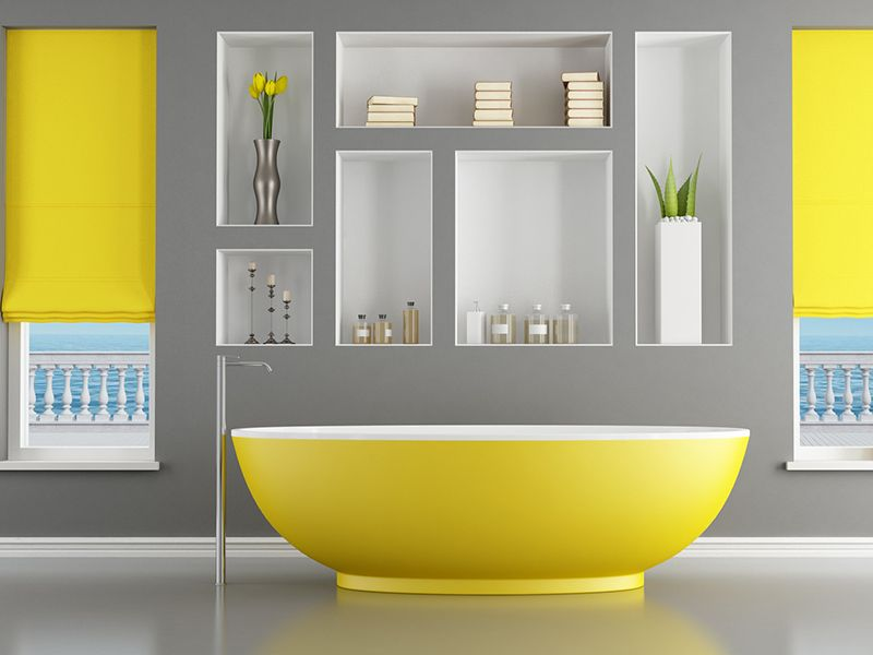 Six tips for Bathroom Walls Color | Holden Design Ideas | Pinterest ...