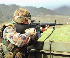 History Of The M16 Assault Rifle In 1959 Colt bought the rights to