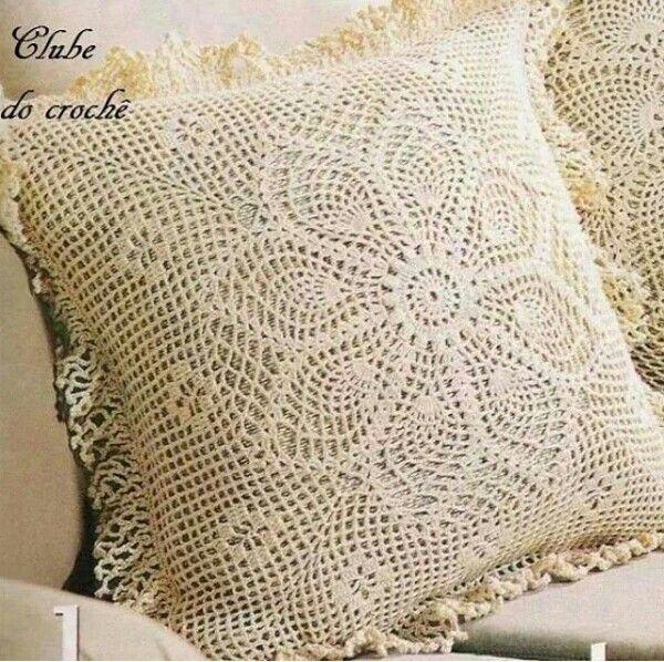 Pin de Rosi Balle en Crochet: Cojines y Almohadas | Pinterest ...