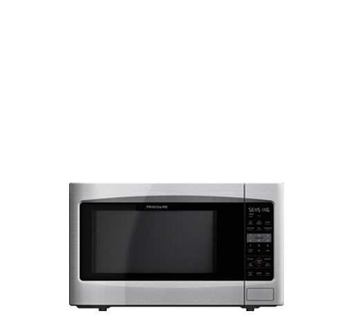 Frigidaire 1 6 Cu Ft Countertop Microwave In Stainless Steel