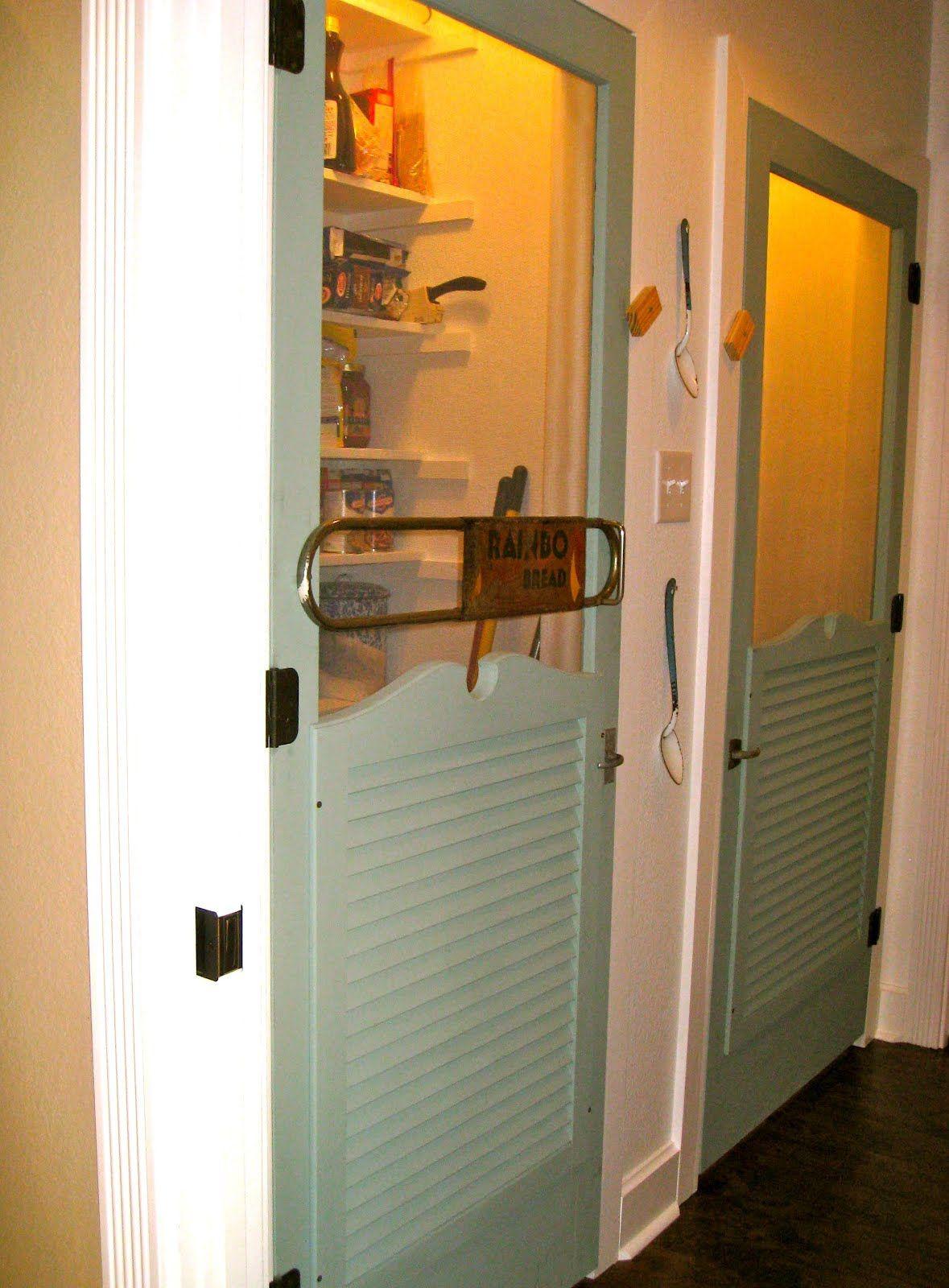 Love Screen Doors Inside    The Texas Woman: Indoor Screen Doors For China  Pantry