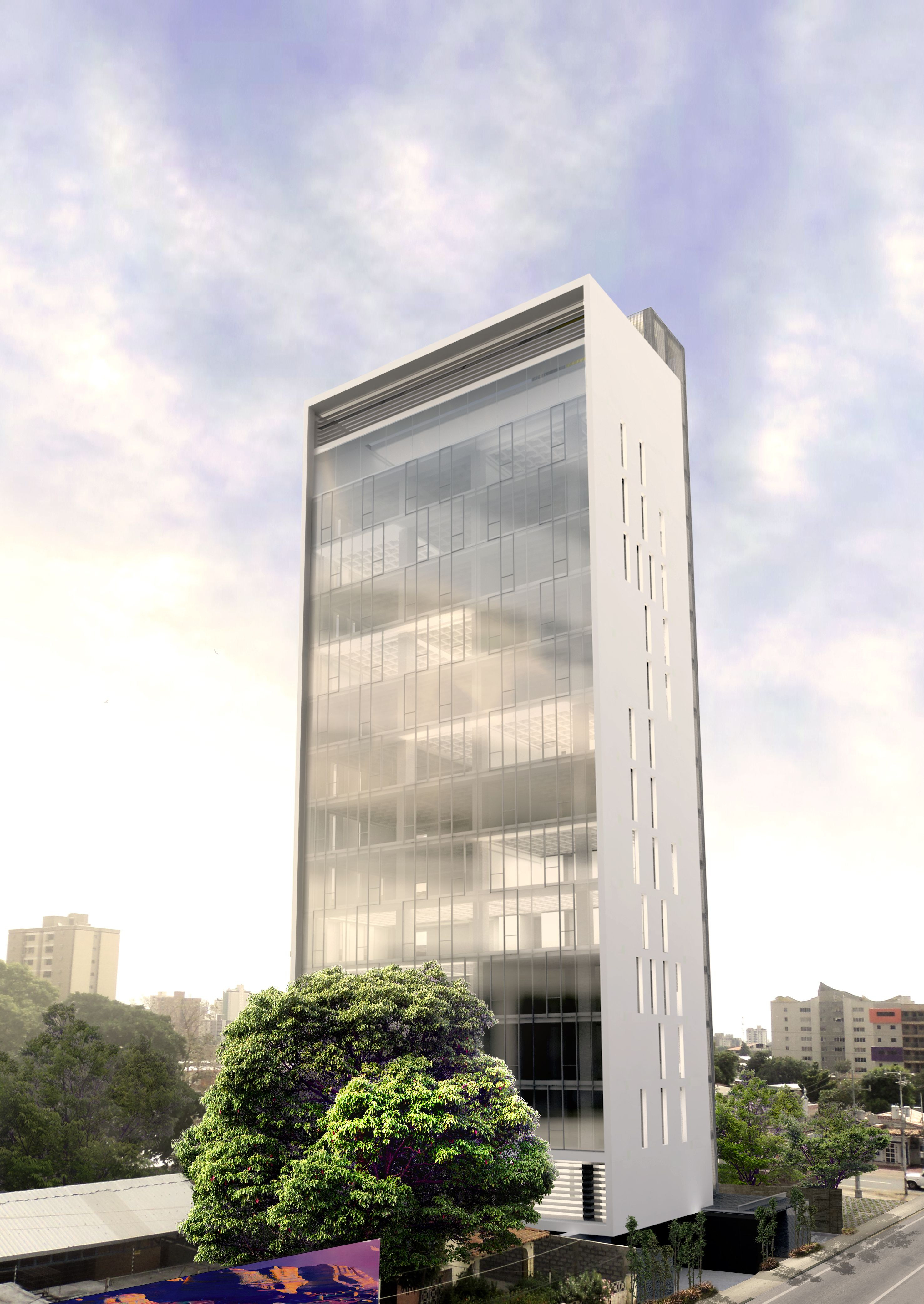 Natural lighting in all offices T13. MAT-Latinamerica.