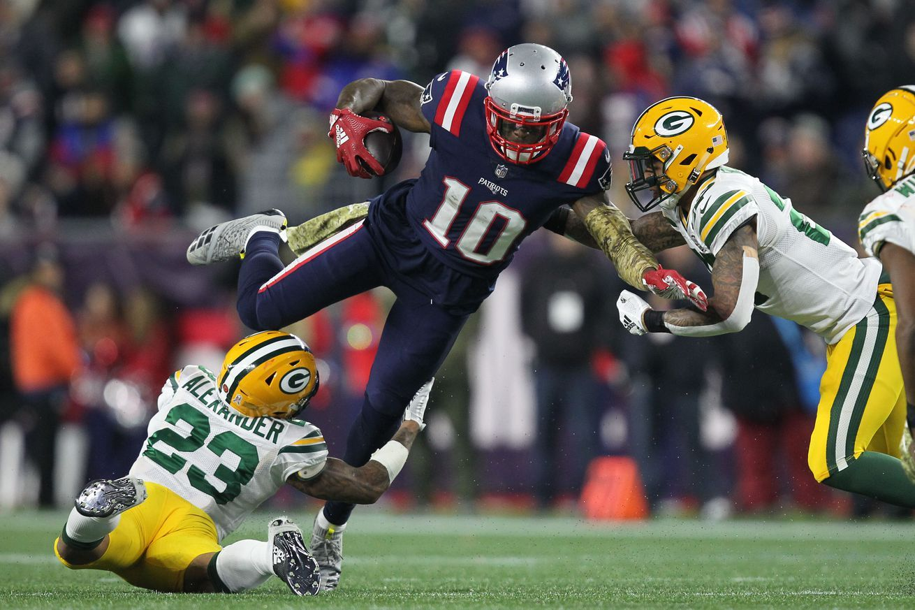 How Josh Gordon found a home in the Patriots offense All
