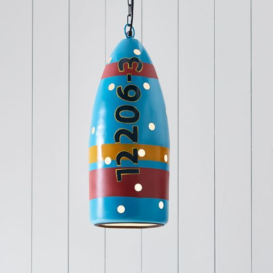 Buoy Pendant With Images Hanging Pendant Lights Diy