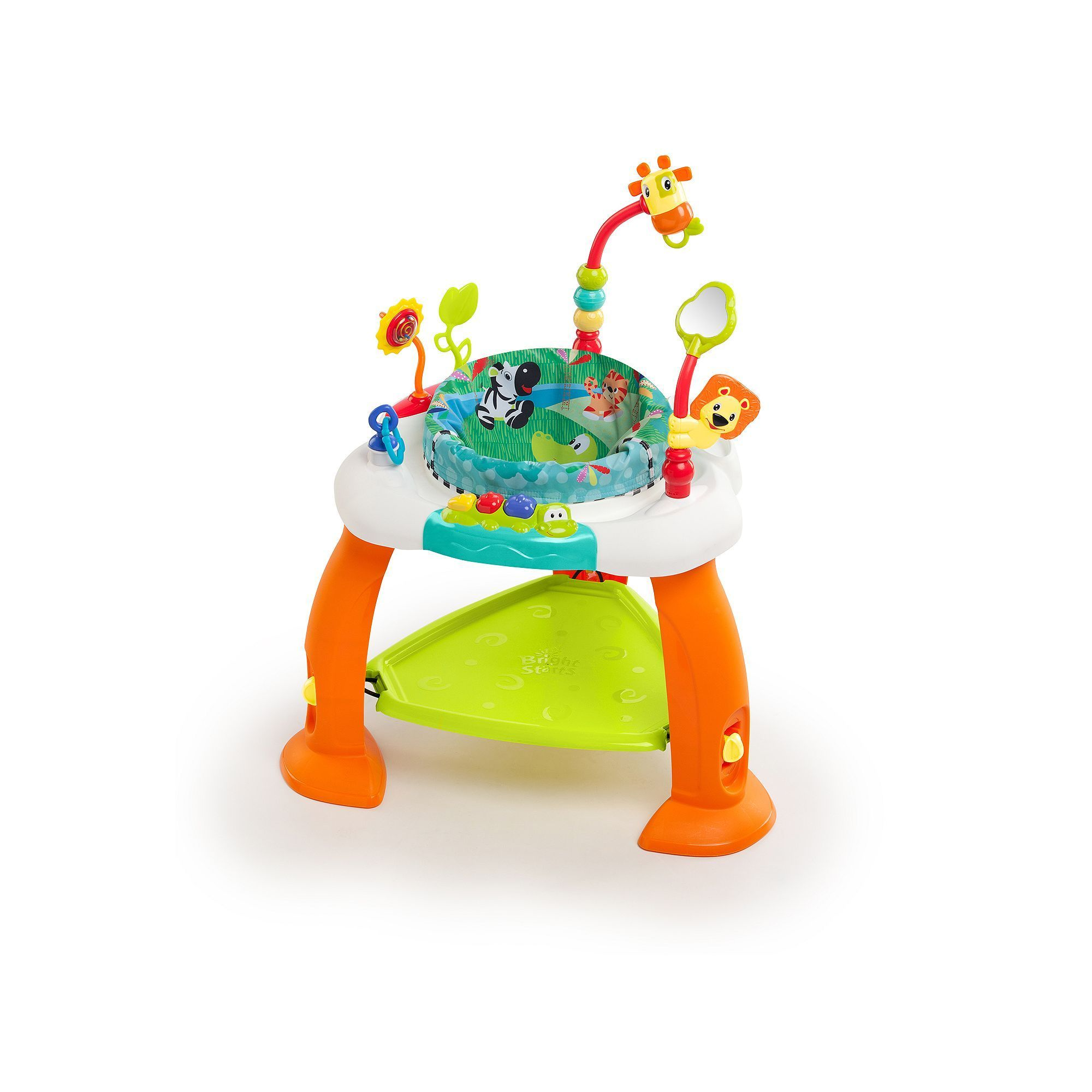 Bright Starts Bounce Bounce Baby Bouncer, Orange   Bouncers and Products