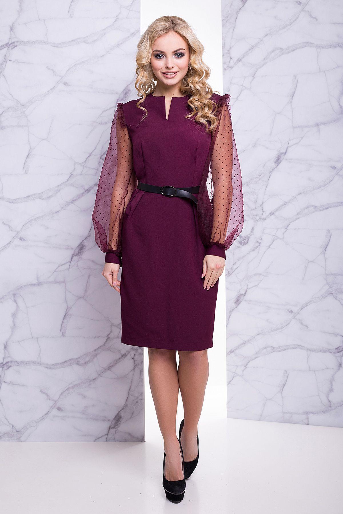 Оригінальне бордове плаття -це стильна новинка модного українського  інтернет-магазину Maximoda. Для його 55001b6fd4476