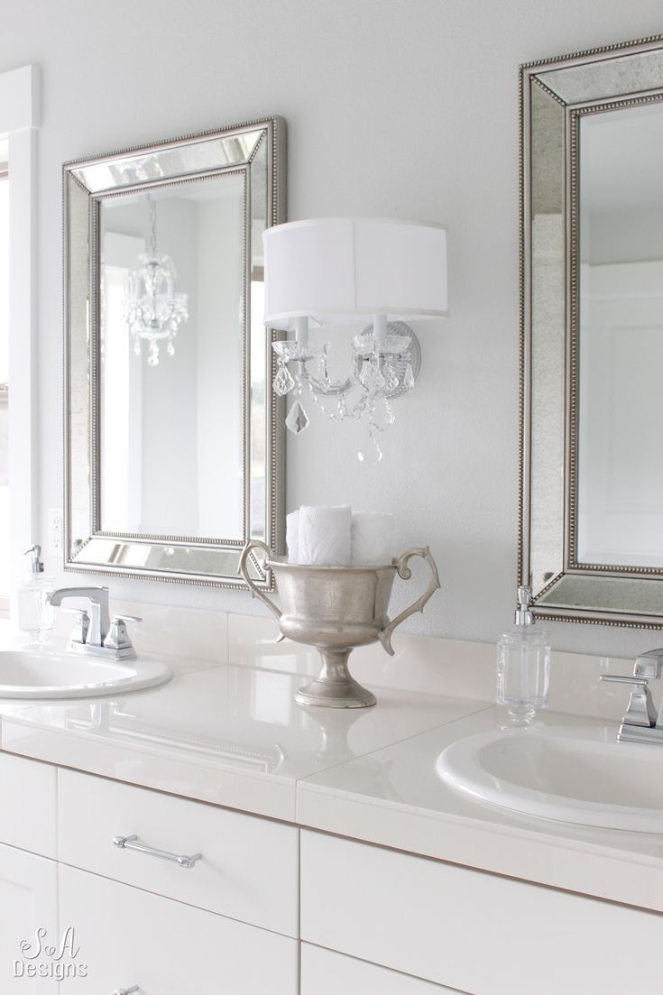 Tranquil Glam Master Bathroom Tour | Master Bathroom Ideas ...