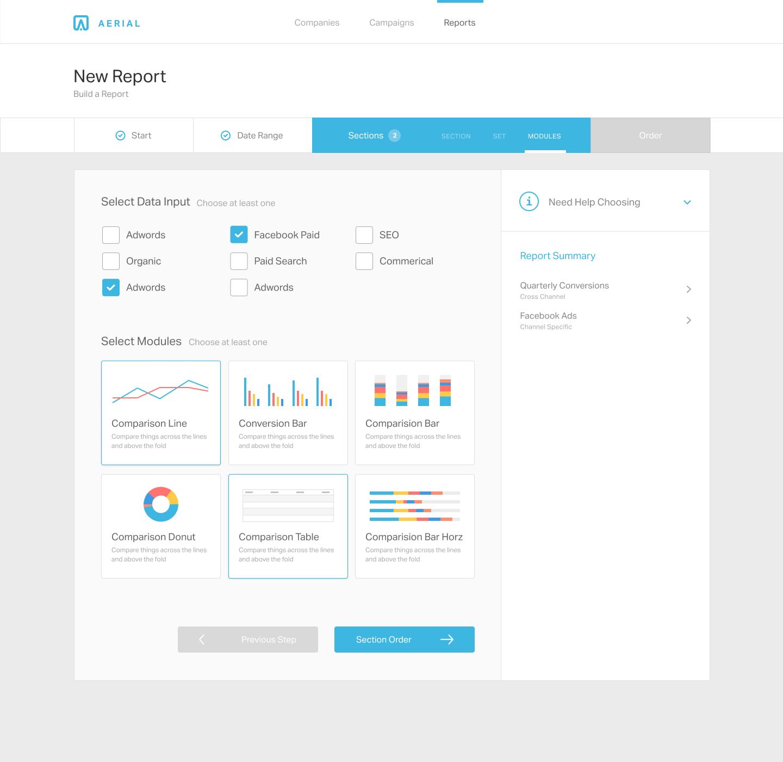04 Section Modules Web Development Design Web App Design Dashboard Design