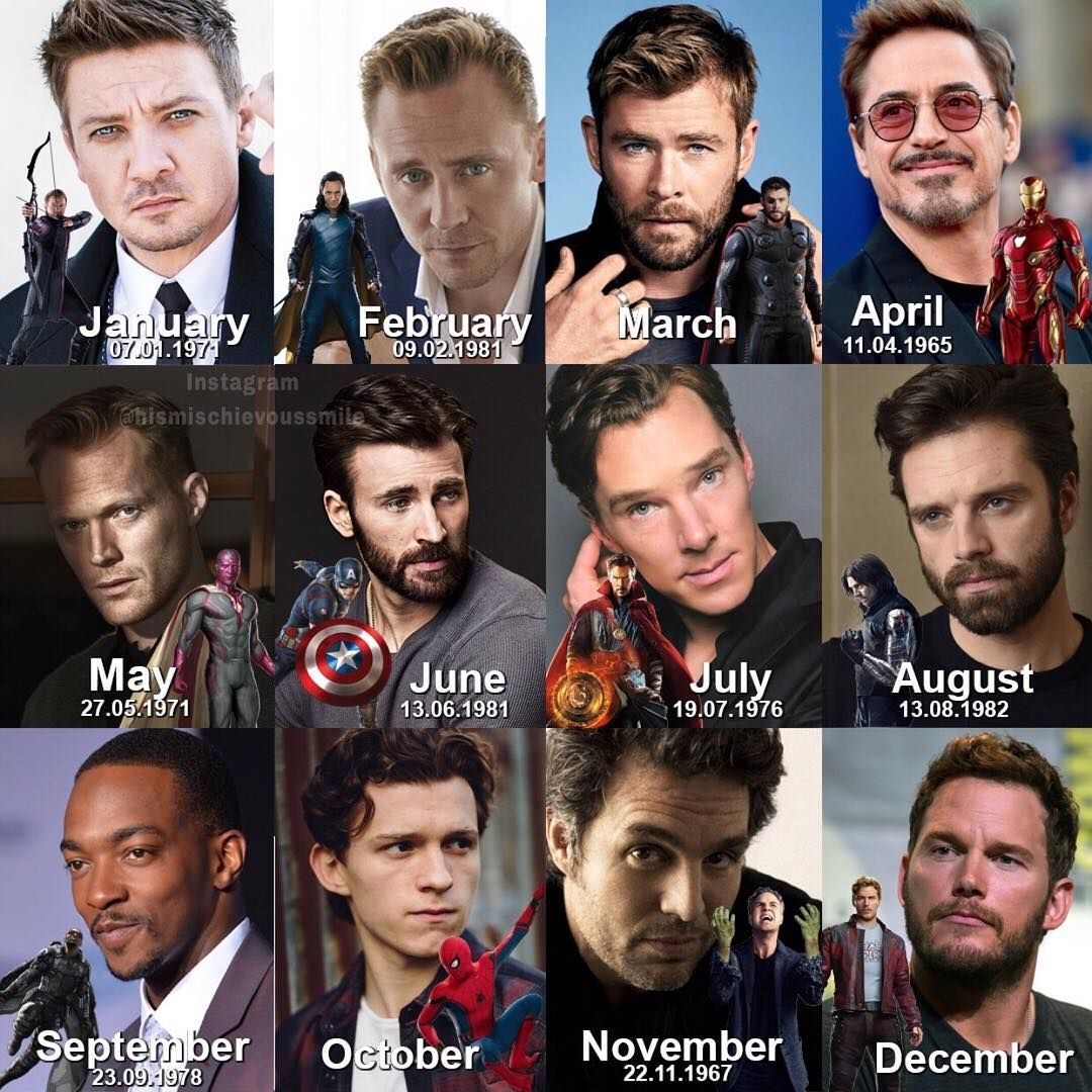 Whose your birth month?! | Marvel Mania/The Avengers | Marvel