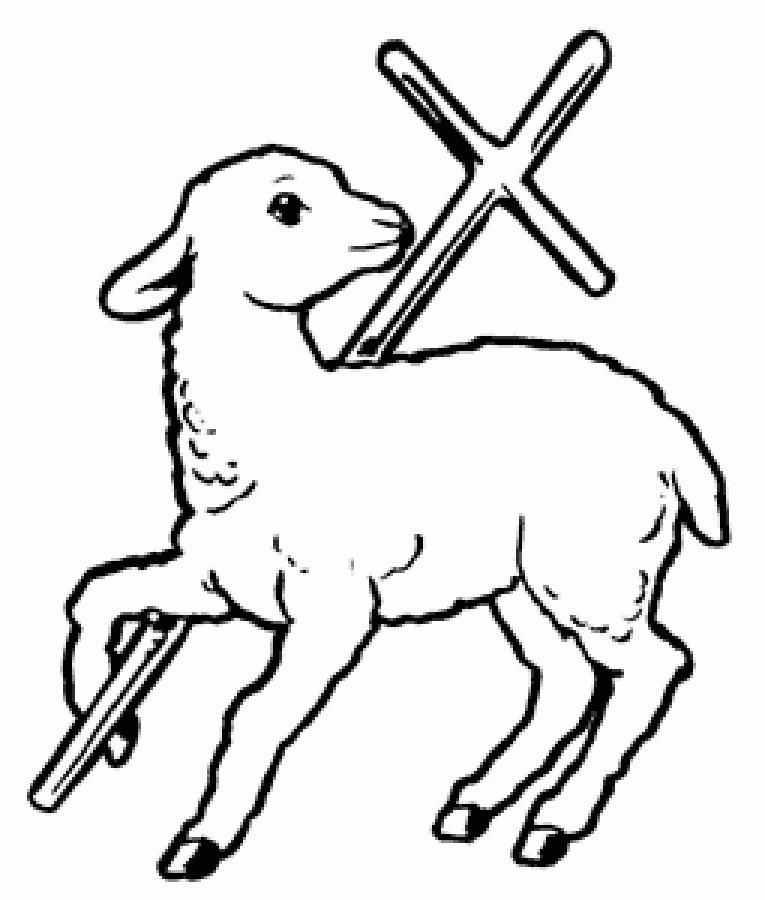 Gallery for - clip art lamb of god Words on Wood Pinterest - best of coloring pages for year of the sheep