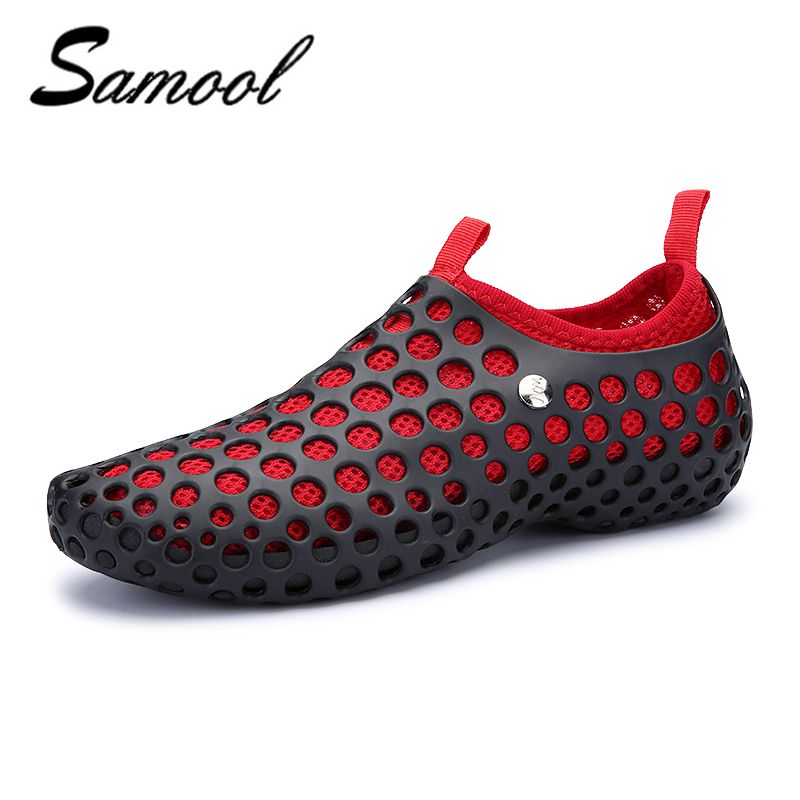 2018 summer Lovers Hole Shoe men Sandals Hollow Outdoor Shoes Flat Casual  Native breathable Shoes men Size36-44 xxz5. Yesterday s price  US  19.73  (16.06 ... 24752e670799