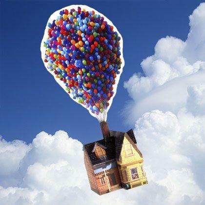 Recipes Disney Family Up House With Balloons Disney Pixar Up Disney Up