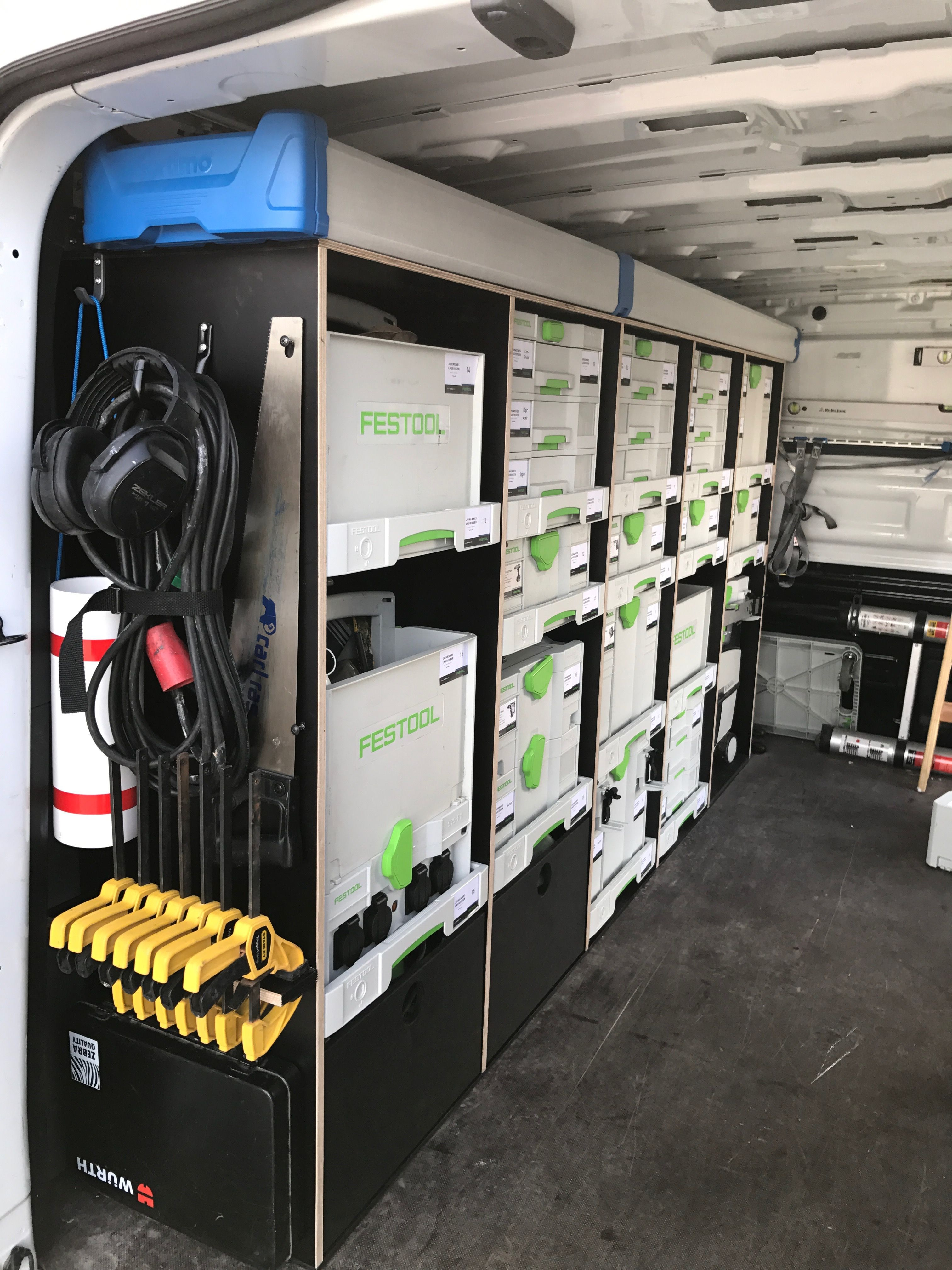 Auto Regale Sortimo Festool Van Racking Sysport Systainer In 2019