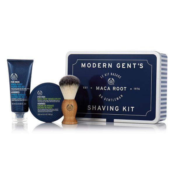 men's shaving kit from the body shop, love to give this to my hubby!