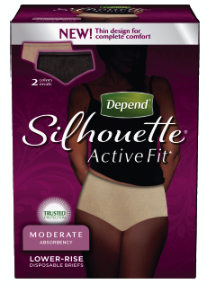 #Depend: Silhouette Active Fit a Healthy Choice - Grandmother Diaries : Grandmother Diaries