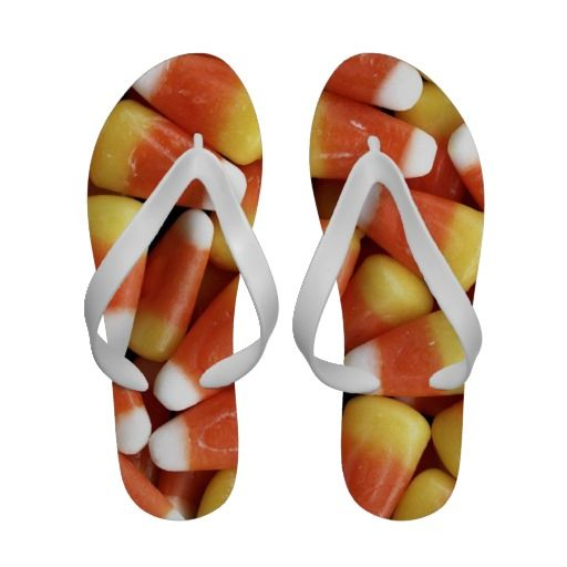 CANDY CORN DELIGHT SANDALS
