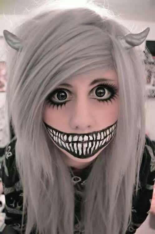 halloween makeup idea Cosplay and Halloween Pinterest Cosplay - cute makeup ideas for halloween