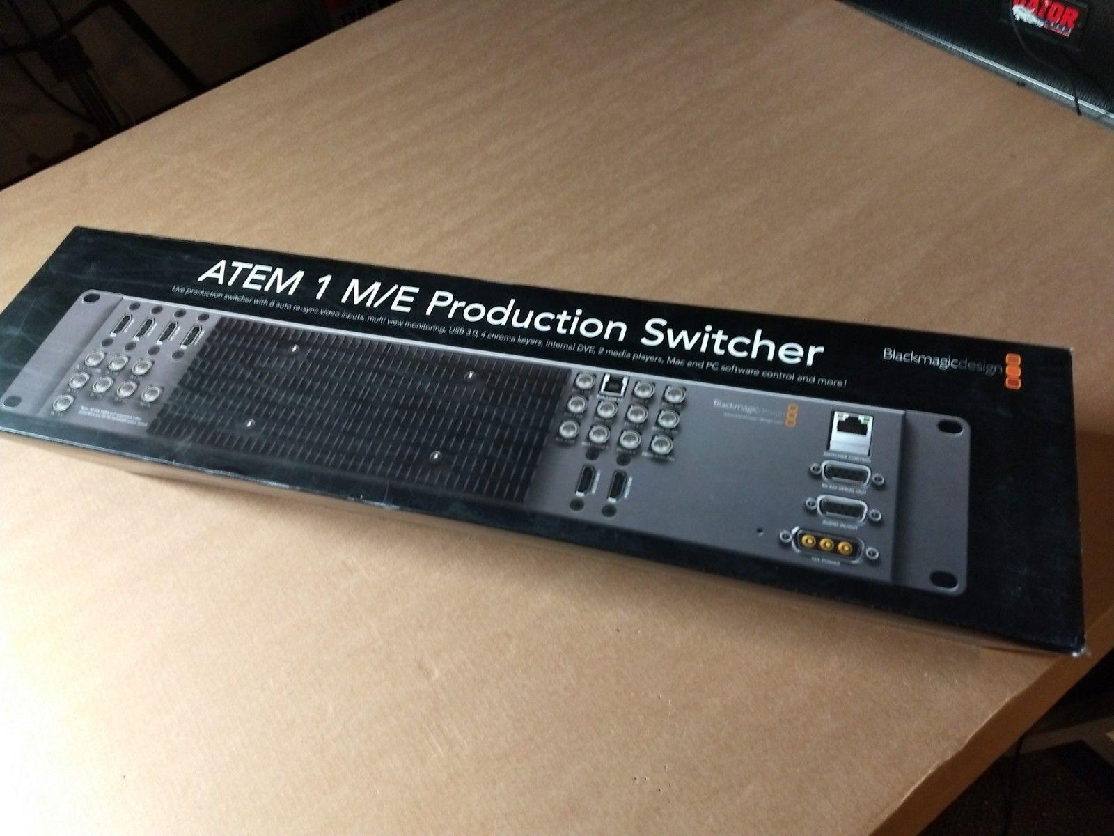 Blackmagic Design Atem 1 M E Production Switcher Blackmagic Design Category Design