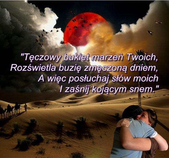 wierszyk_na_Dobranoc.jpg (550×512)   Dobranoc, Myśli, Sen