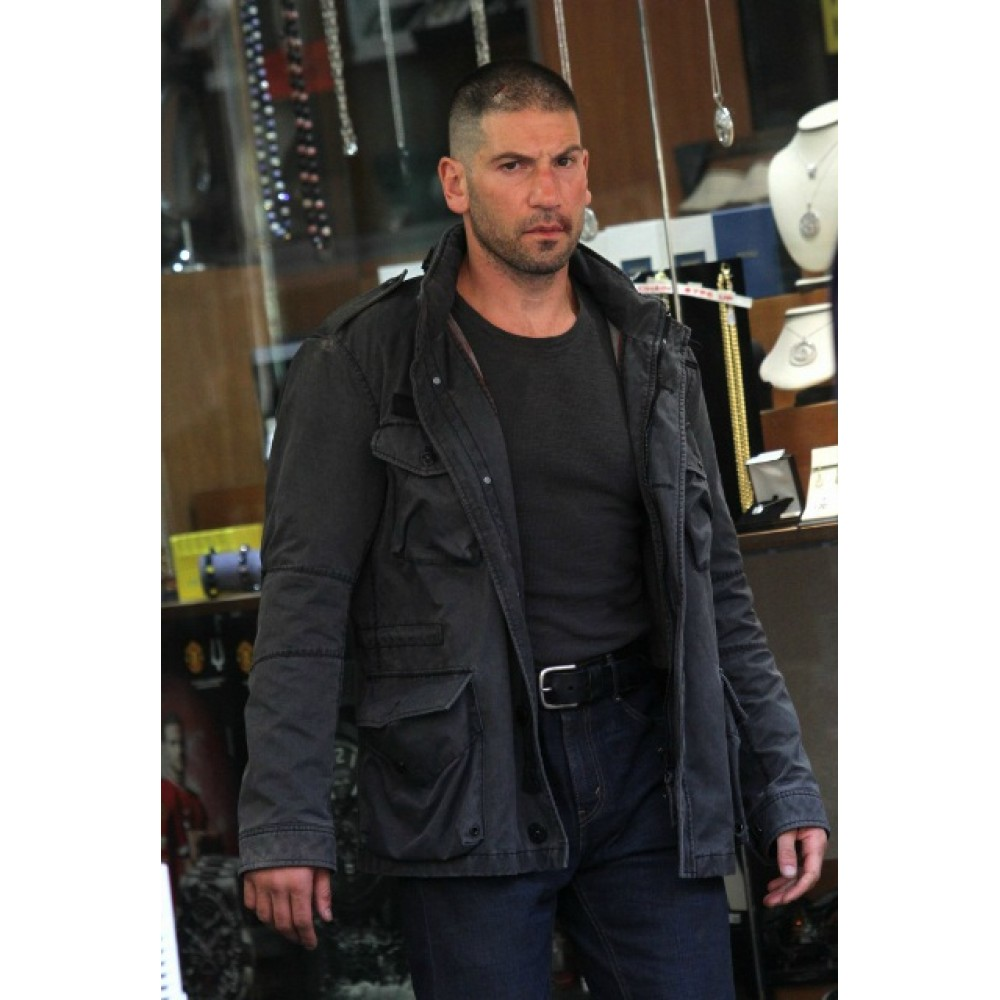 Daredevil Season 2 Jon Bernthal Leather Jackets Celebrities Jackets Celebrity Jackets Leather Jacket Men Distressed Leather Jacket [ 1000 x 1000 Pixel ]