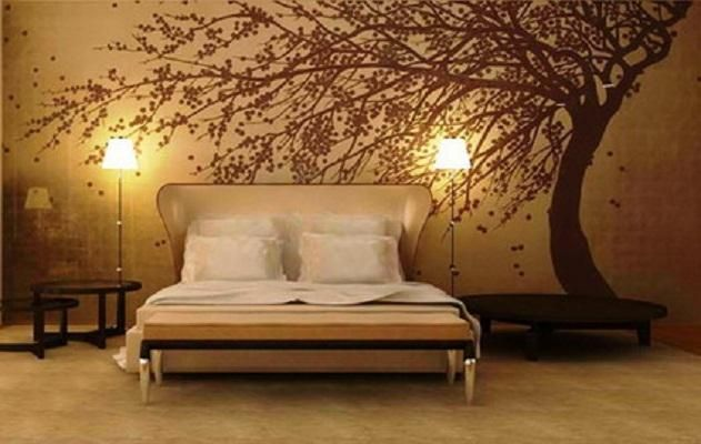 Cool Wallpapers For Home With Abstract Tree Wall Murals Jpg 631 400 Wallpaper Design For Bedroom Bedroom Wall Designs Interior Decoration Bedroom Cool wallpapers for bedroom