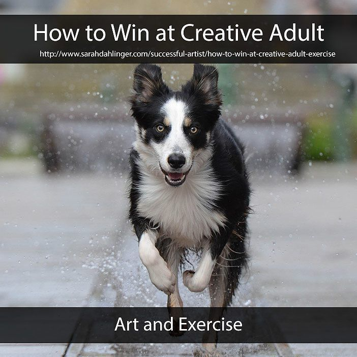 It's hard to stay in shape and create. This is what I do.  #blog #blogging #artist #wordpress #follow #success #sarahdahlingerart #motivation #inspiration #win #persevere #student #dream #workhard #practice #stress #social media #timemanagement #productivity #workflow #tips #business #creative #creativebusiness #MondayMotivation #art #howtowinatcreativeadult