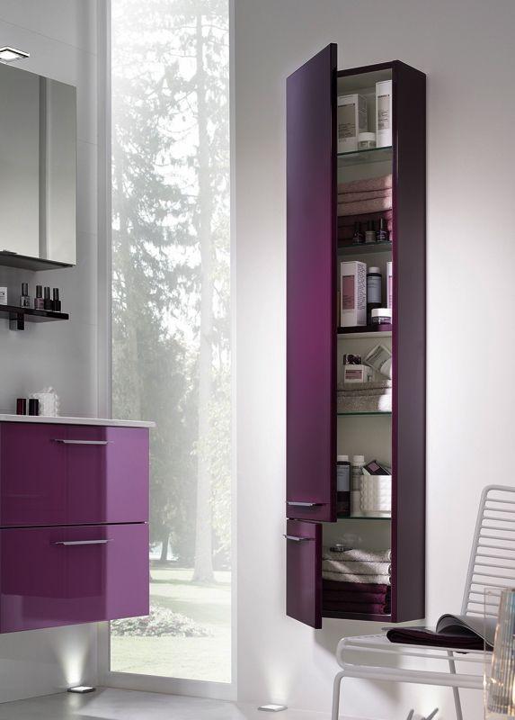 Meuble De Salle De Bains & Armoire De Toilette Glossy Sweet