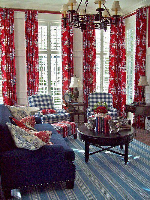 The Art Of Finding A Homegoods Blog Homegoods Living Room Red Blue Living Room Blue Rooms