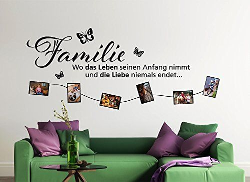 die besten 25 wandtattoo familie ideen auf pinterest einen flur schm cken aufkleber f r. Black Bedroom Furniture Sets. Home Design Ideas
