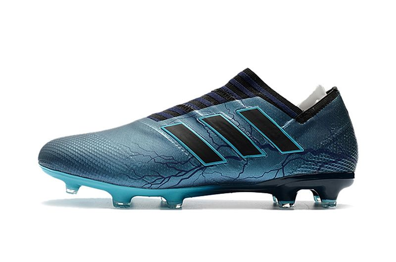 sports shoes 8249e 15beb 2017-2018 FIFA World CUP New Soccer Cleats Adidas Nemeziz Messi 17 1 FG  Dark Blue Black