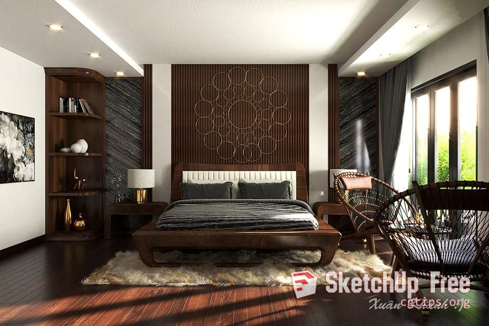 Bedroom Sketchup Interior Design - valoblogi com