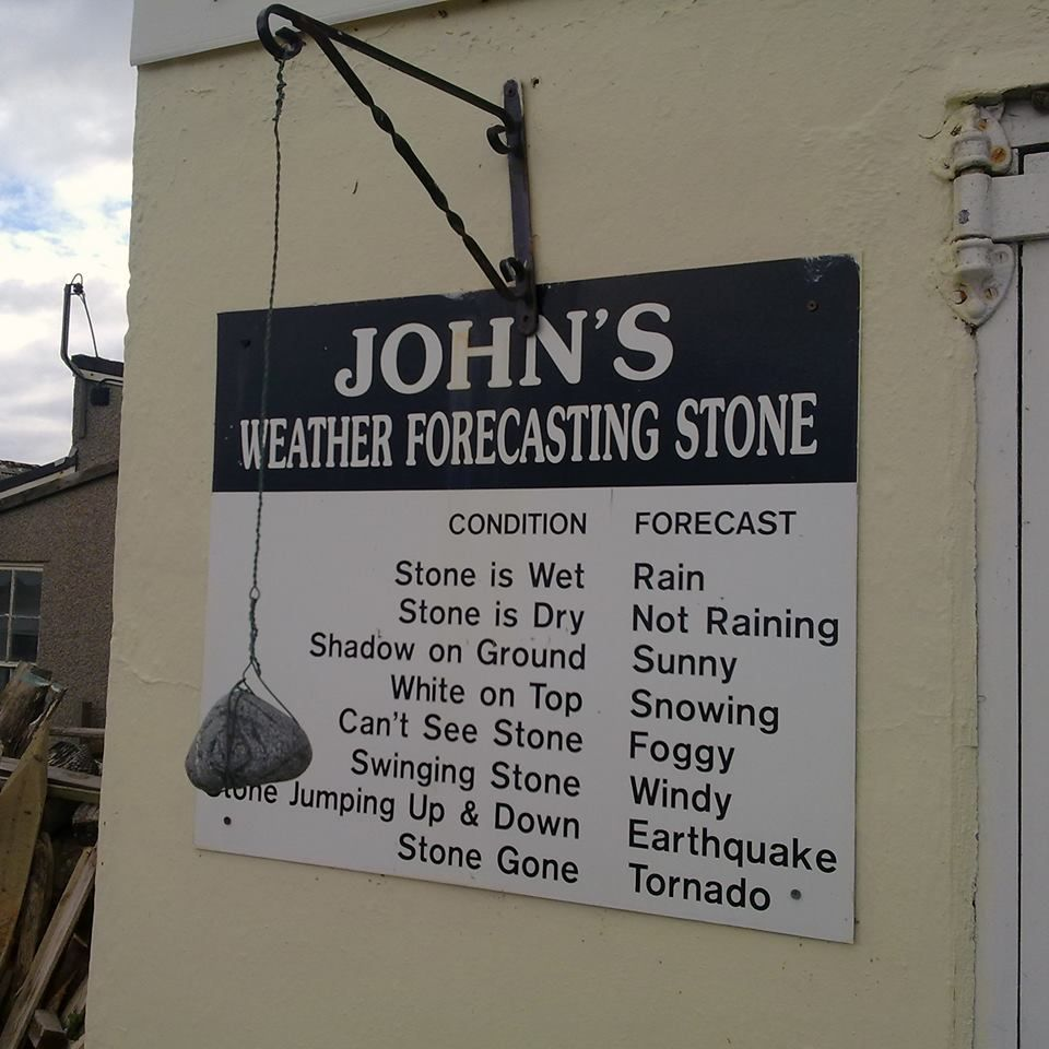 Weather Forecasting Stone Funny Signs Funny P Just For Laughs