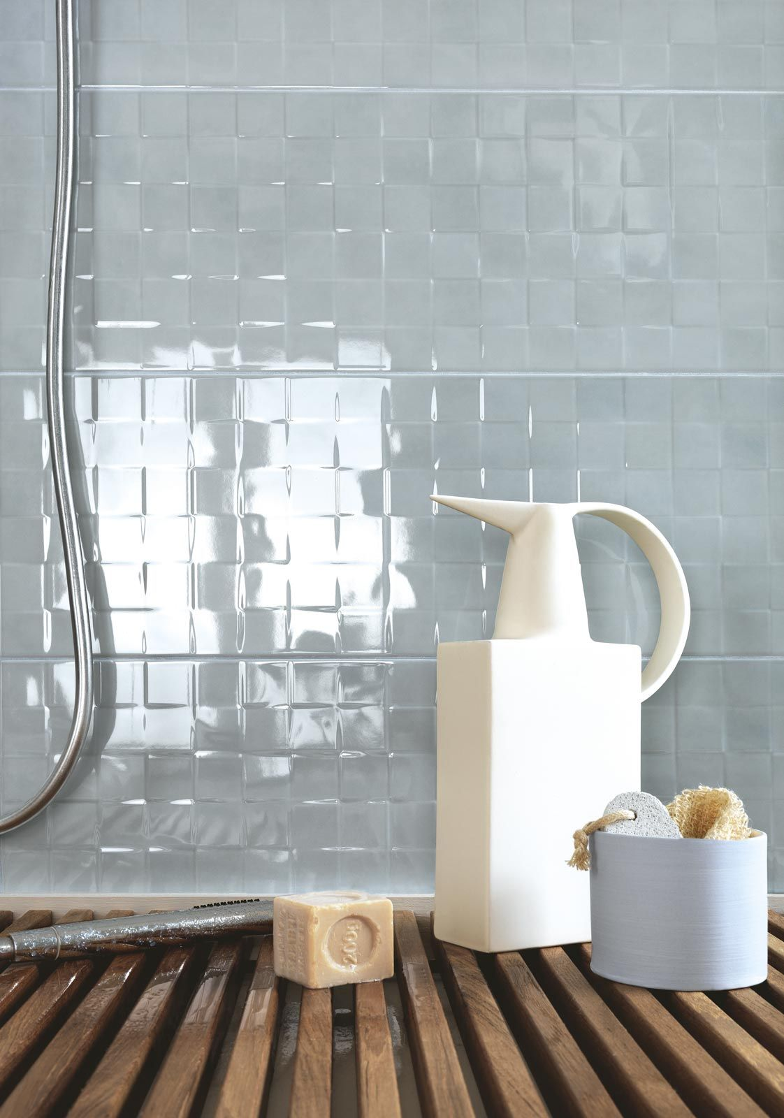 Handmade - glossy wall tiling for bathroom | RAGNO | tiles @Marazzi ...