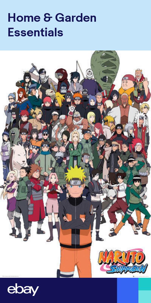 Naruto Shippuden Anime Manga Tv Show Poster Print All