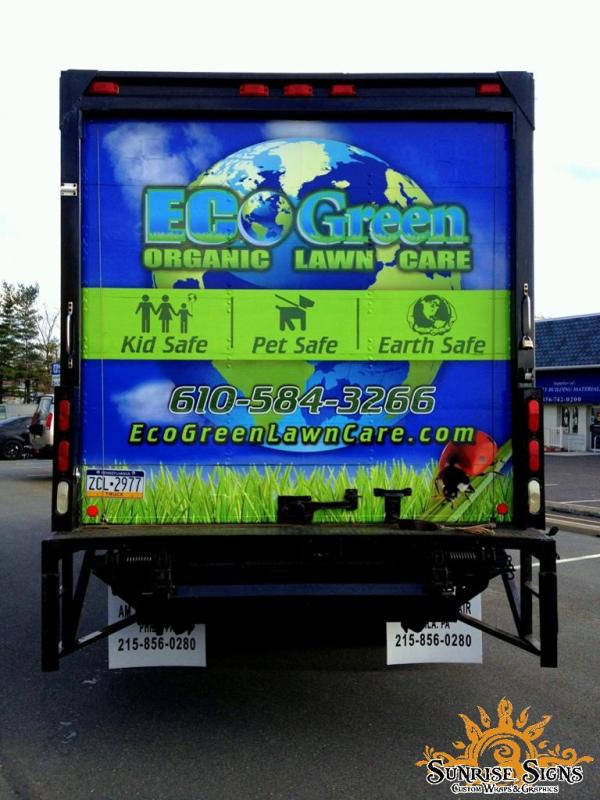 Landscape Contractor Box Truck Wraps Landscape Contractor Web Development Design Wraps
