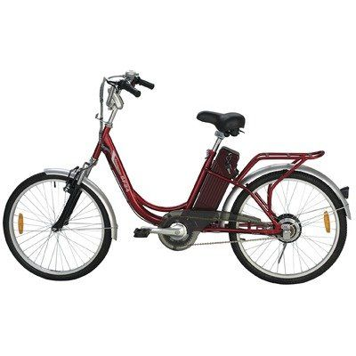 Yukon Trails Womens Navigator Urban Street Electric Bike 24 Inch