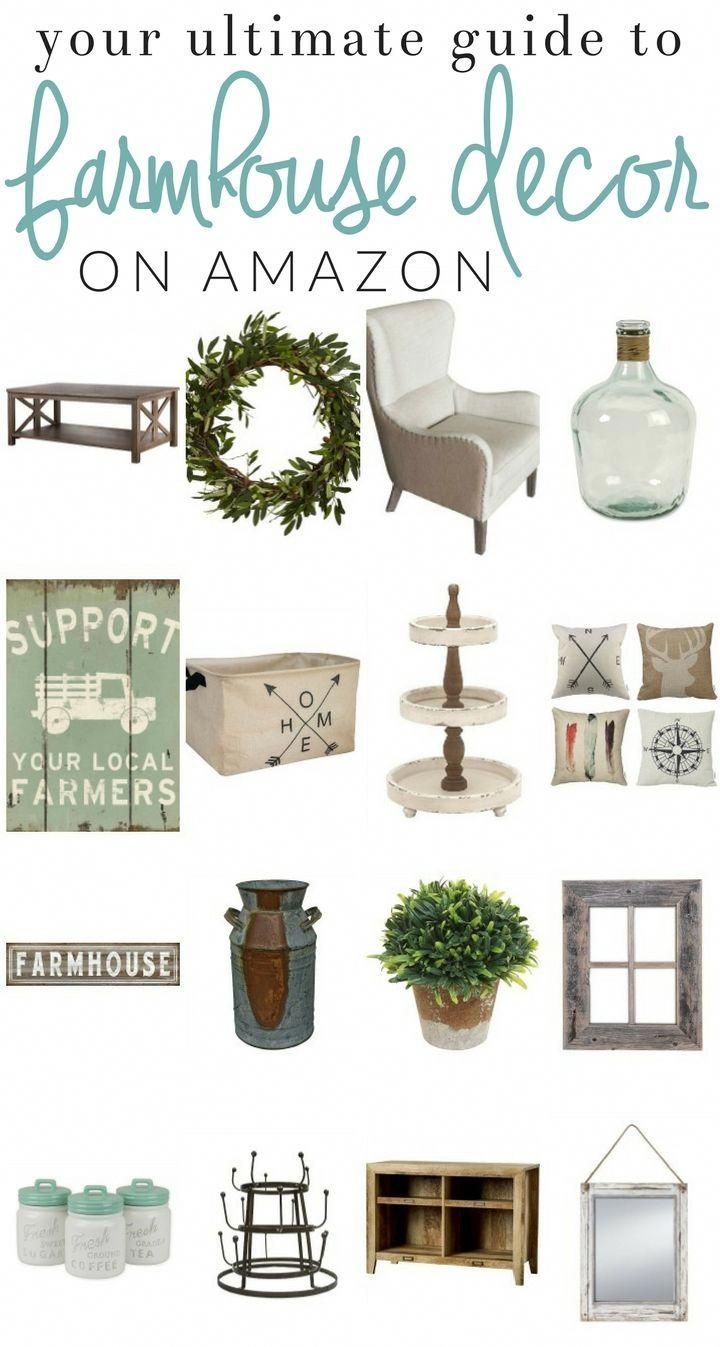 Surprising Finds - The Best of Amazon Home Decor #amazonhomedecor Discover an amazing and inexpensive resource for decorating your home - Amazon home decor finds. Decorate with the click of a mouse, while saving time and money. Snag these home decor finds with Prime shipping! #countryhomedecoration #amazonhomedecor