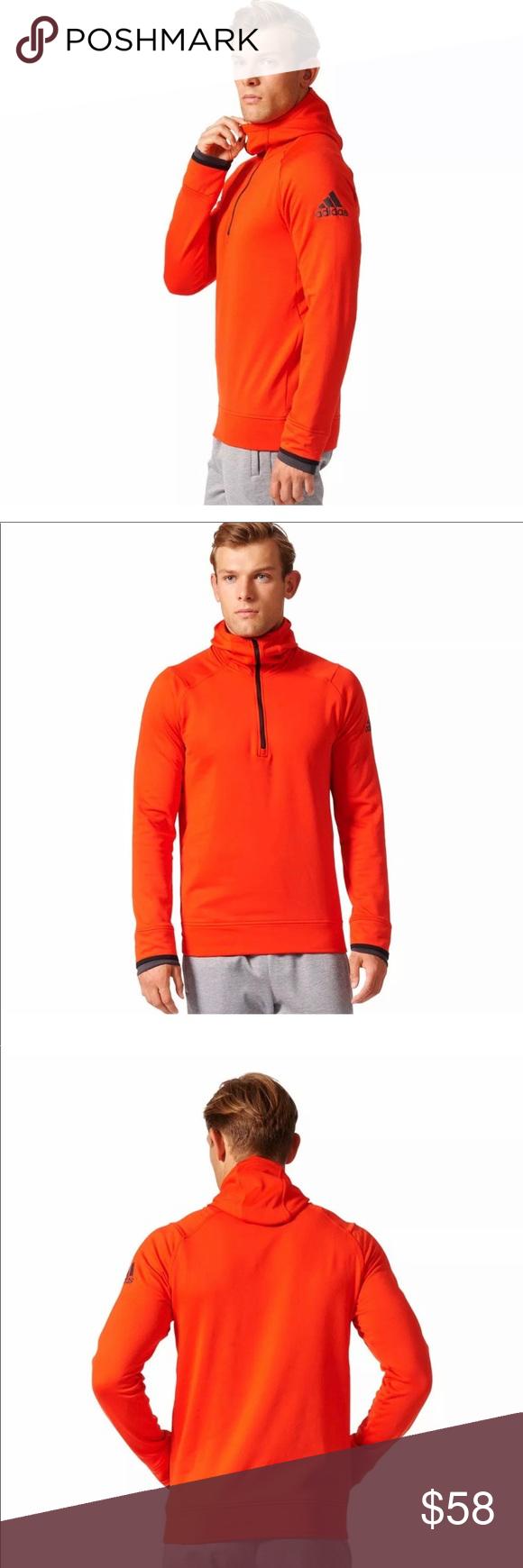 Adidas Clima Heat Hz Hoodie Adidas Men S Size L Climaheat Hz Hoodie 1 4 Zipper Pull Over Training Sweatshirt 93 Polyes Hoodies Sweatshirt Shirt Adidas Shirt [ 1740 x 580 Pixel ]