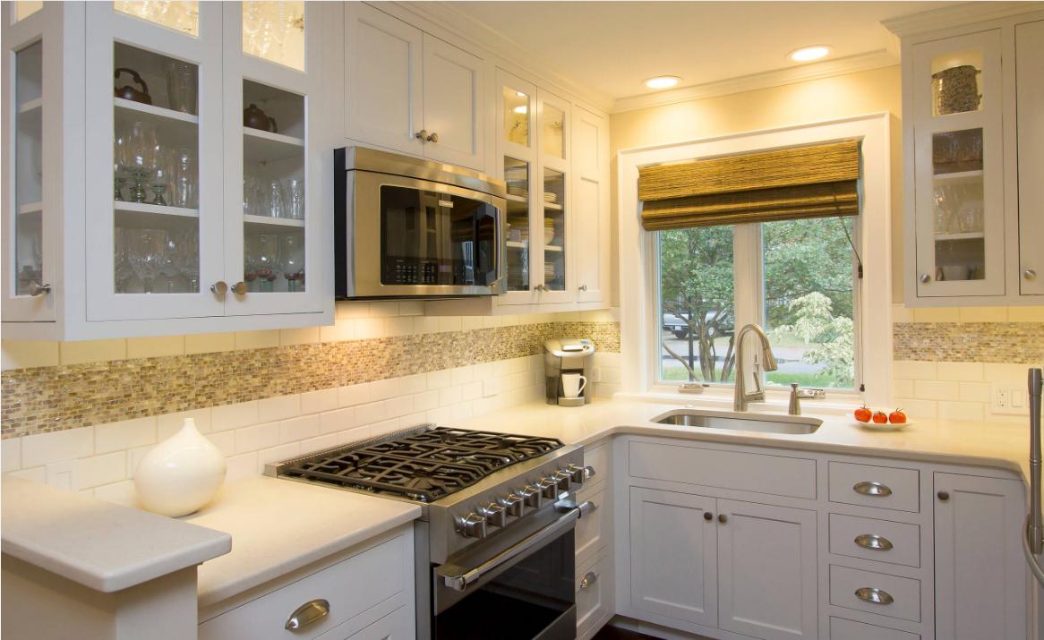 - Pin On Iridescent Mother Of Pearl Mosaic Tile As Kitchen Backsplash